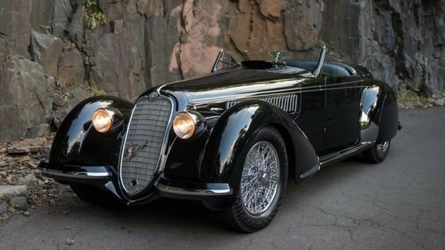 Alfa Romeo 8C 2900B Lungo Spider de 1939