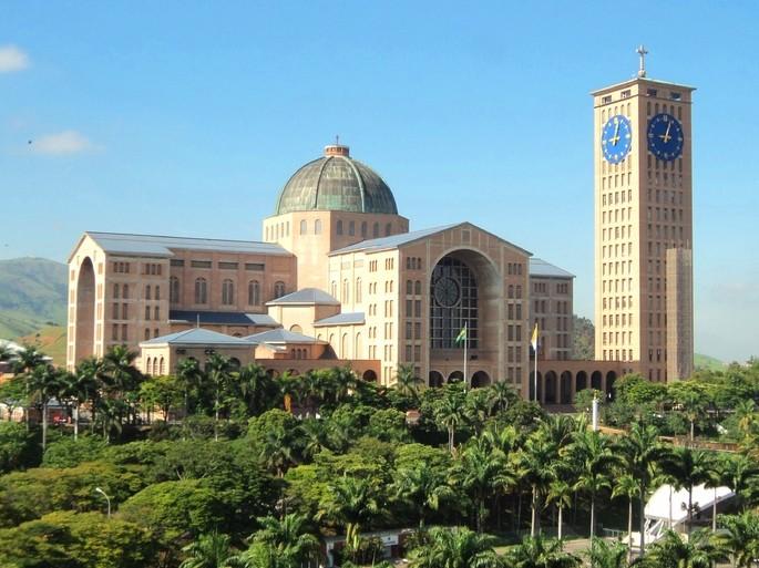 File Frente Da Basílica De Nossa Senhora Aparecida: As 5 Maiores Religiões No Brasil: Quais São, De Onde