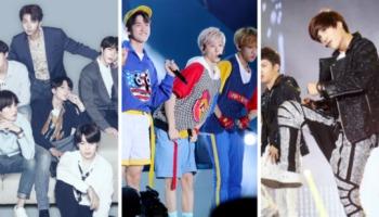Os 17 grupos de kpop masculinos mais populares do mundo
