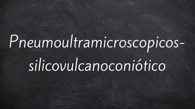 Pneumoultramicroscopicossilicovulcanoconiótico