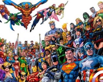 Para você quem são os maiores super heróis do mundo? Vote aqui!