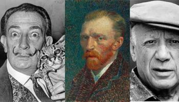 Pintores famosos: a vida e as pinturas de 12 pintores inesquecíveis